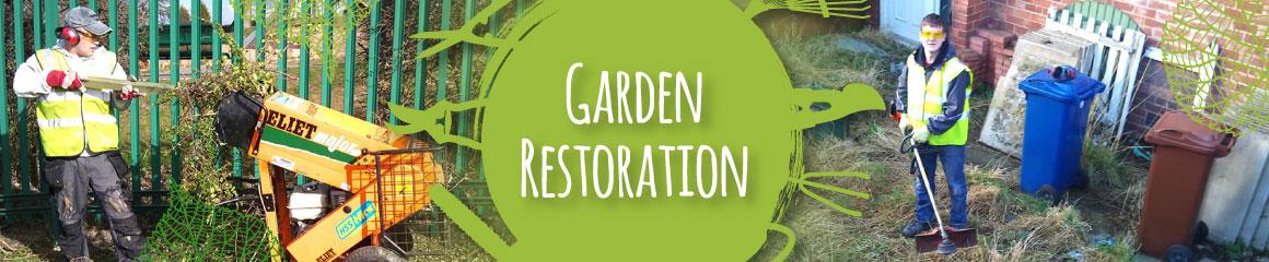 Twiggs Garden Restoration in Barnsley