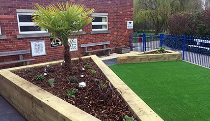 Athersley Primary School Sensory Garden