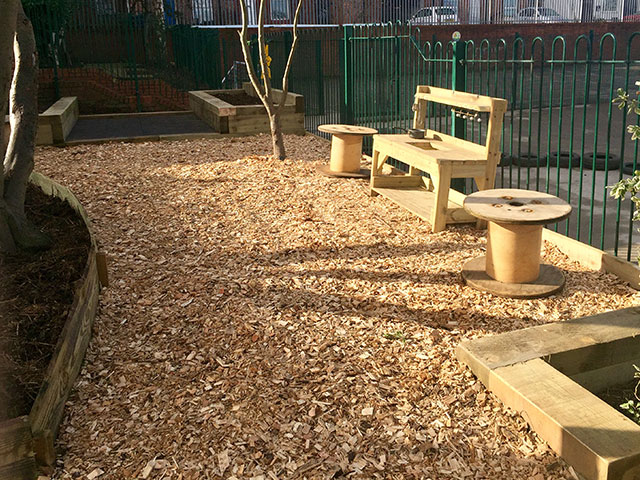 Birkwood Primary School Woodland Area