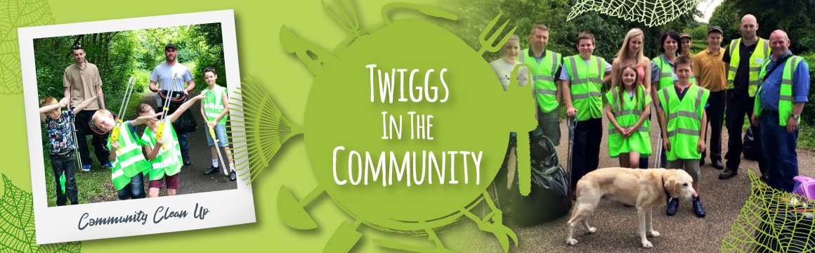 Twiggs working in the Barnsley Community