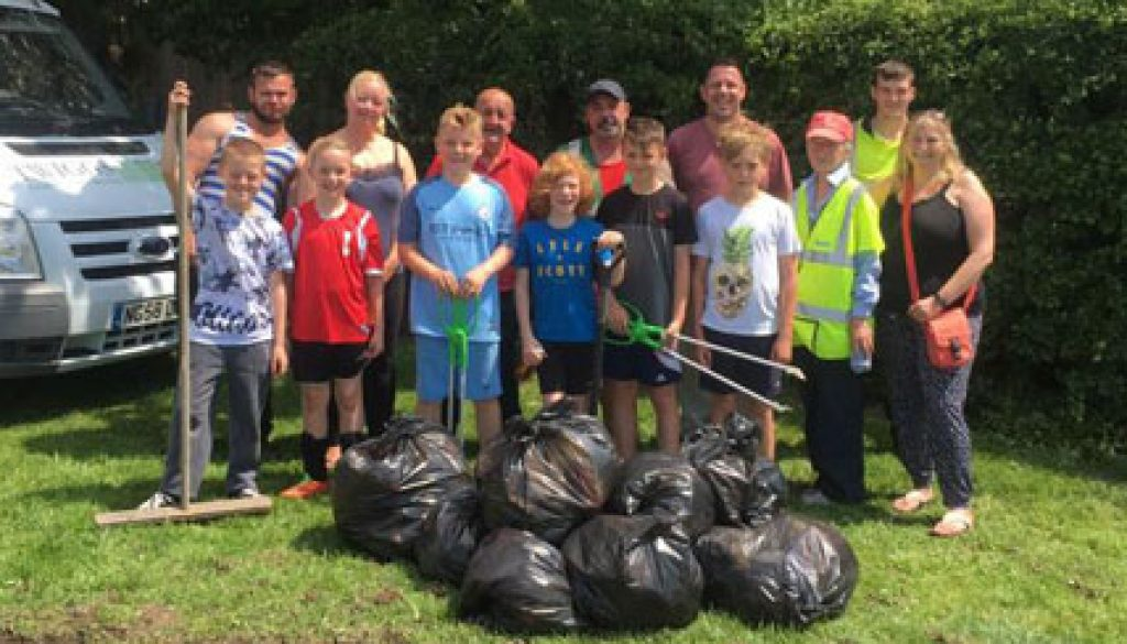 Ward Green Warriors Community Tidy Up Team