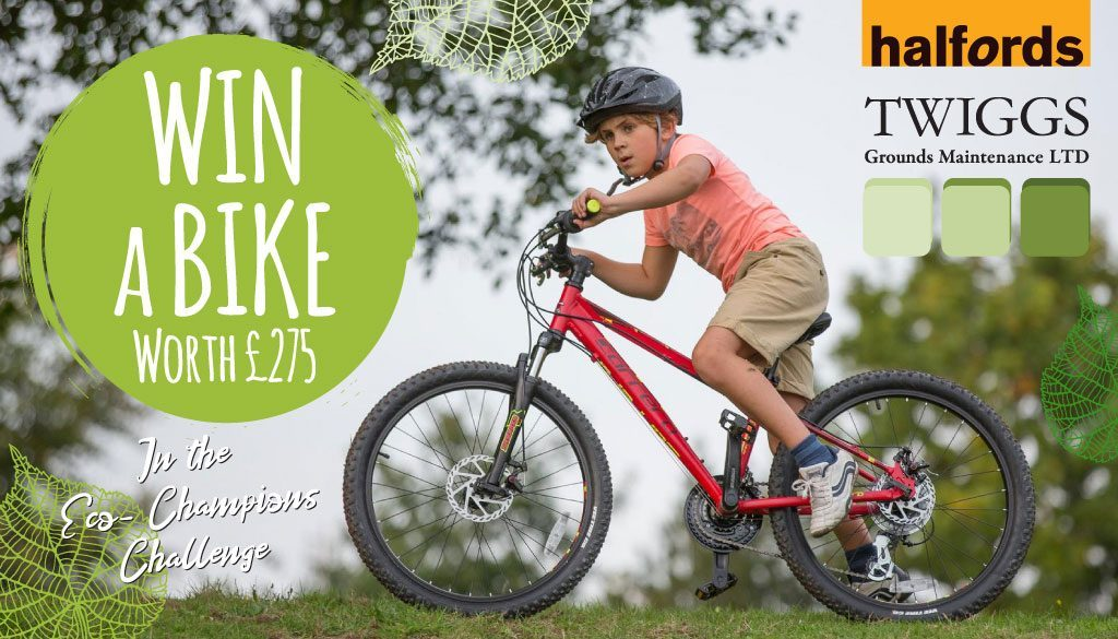 Win a Bike in the Eco-Champions Challenge