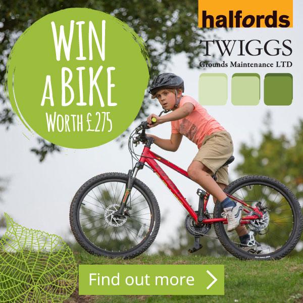 win a bike pop-up